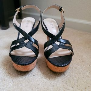Cute Strappy wedge shoes